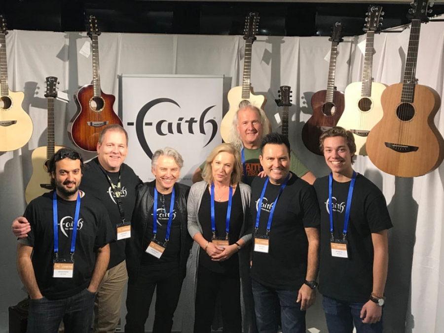 New Australian distribution deal for Faith Guitars.